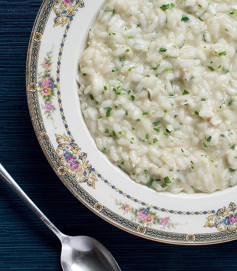 fish risotto recipe