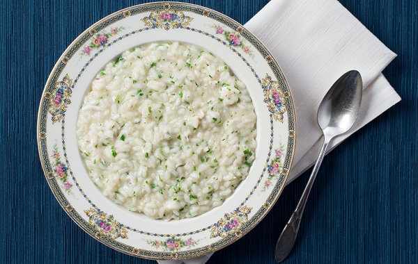 fish risotto recipe