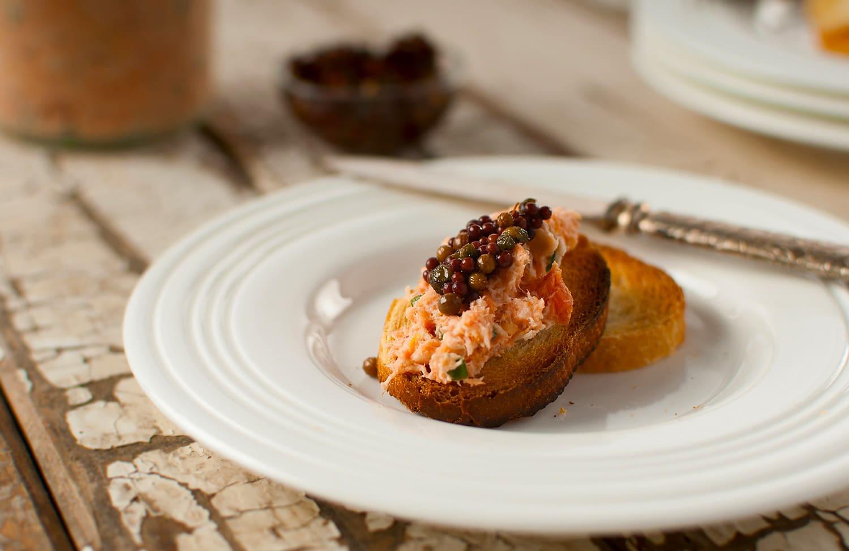 salmon rillettes recipe