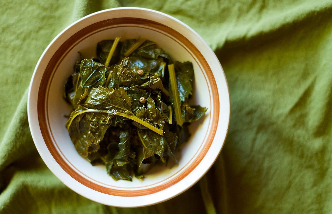 pickled mustard greens recipe