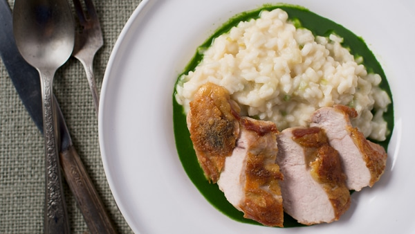 Pheasant with Parsley Sauce Recipe