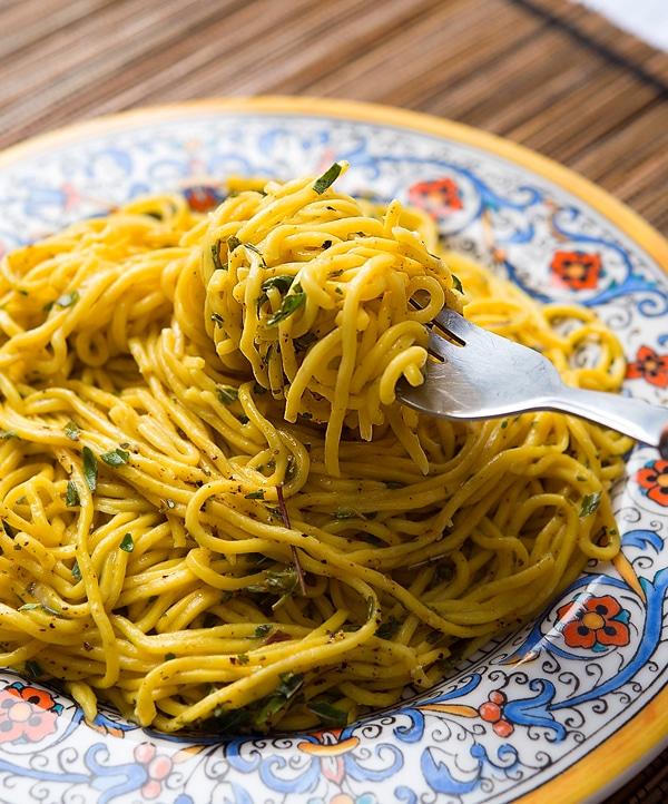 cattail pasta