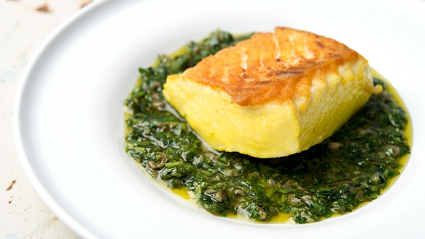 saffron halibut recipe