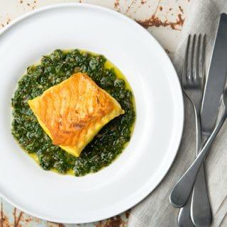 halibut recipe salsa verde