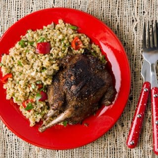Egyptian grilled pigeon recipe