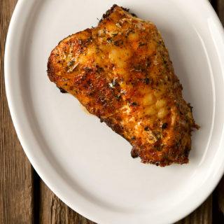 fish on the half shell recipe