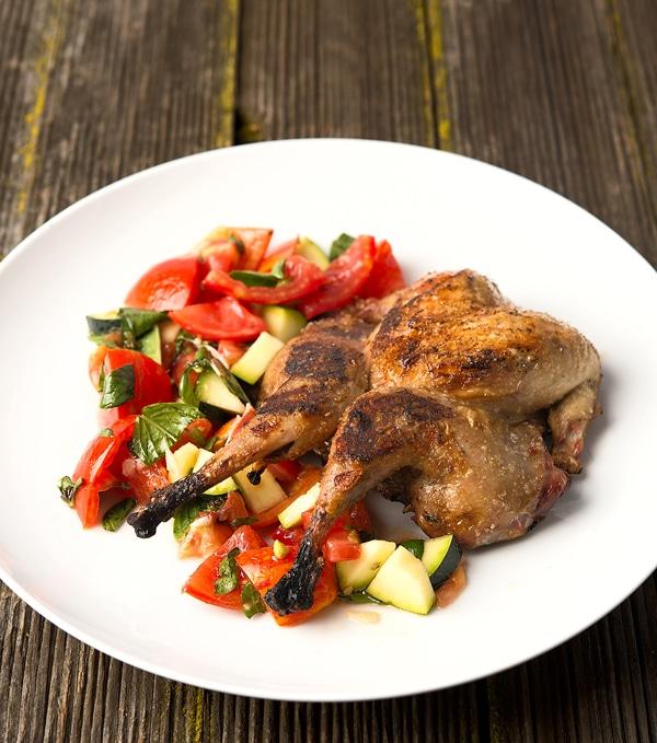 grilled partridge recipe