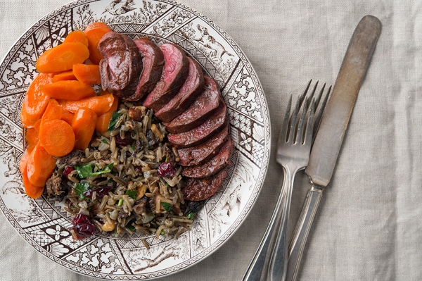duck wild rice pilaf recipe