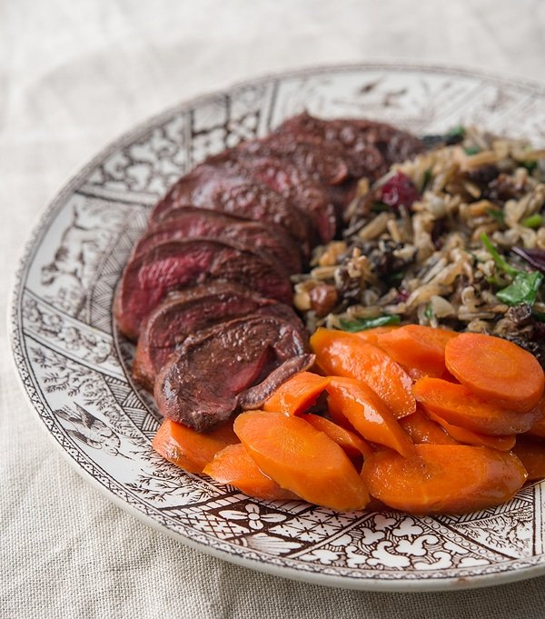 wild rice duck recipe