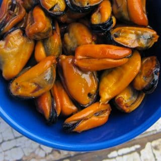 How to make smoked mussels