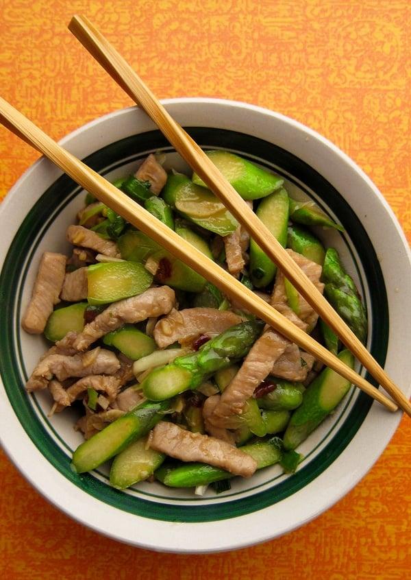 pork asparagus stir fry