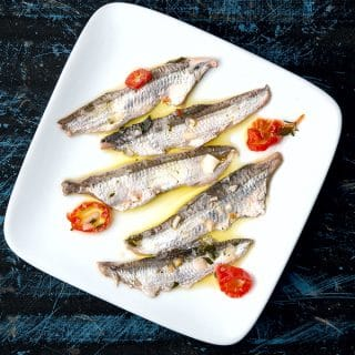 Boquerones, Fresh Cured Anchovies