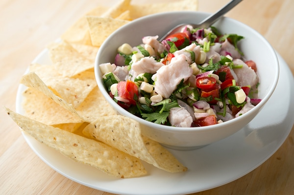 ceviche recipe with chips