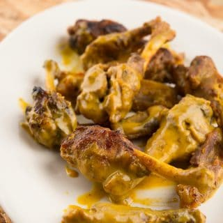 honey mustard duck wings