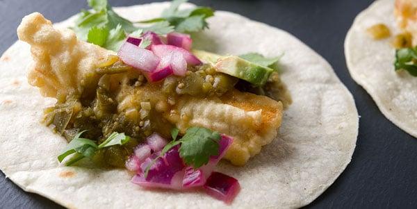 Fried fish tacos recipe