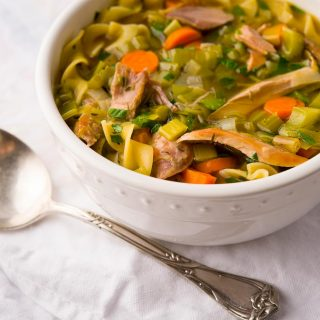 Pheasant Noodle Soup