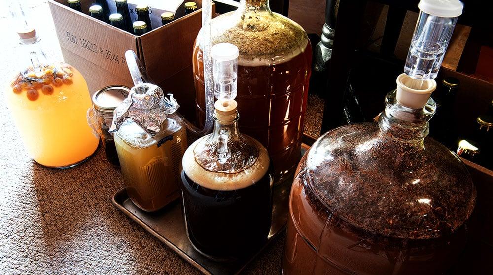 Hank Shaw's beer experiments