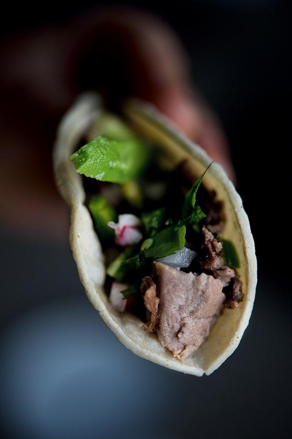 Tacos de lengua