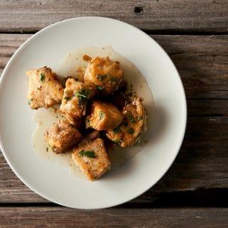 honey sturgeon recipe