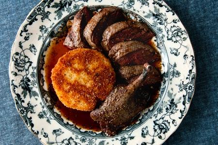 roast canvasback recipe