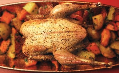 simple roast pheasant