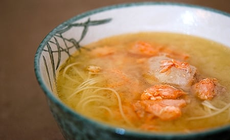 Salmon head soup hunter angler gardener cook for Fish head soup recipe