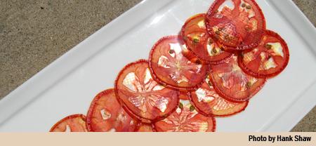 tomato salami