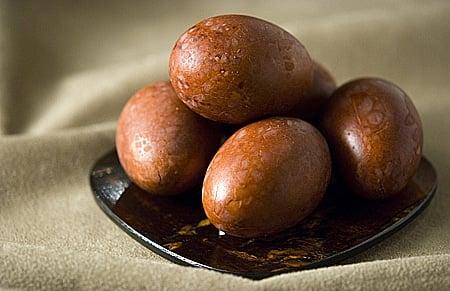 Madrone bark eggs