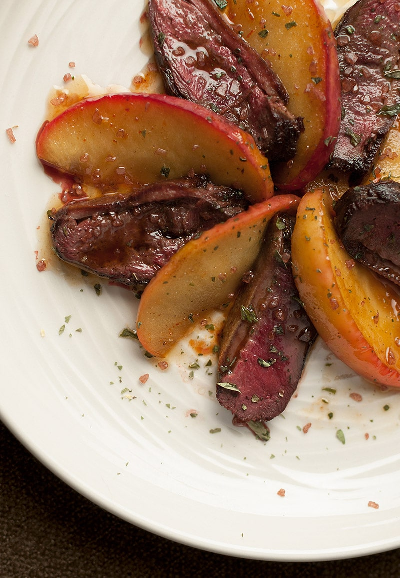 duck with apples recipe