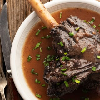 Braised venison Shank recipe