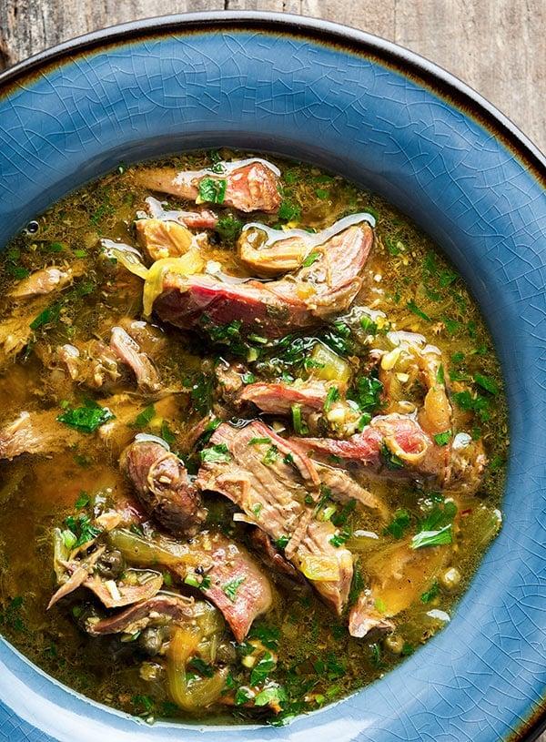 Sardinian hare stew recipe