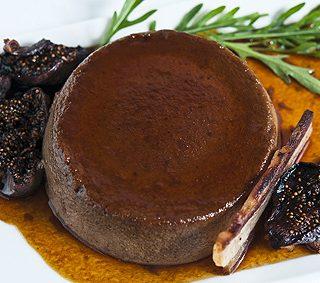 wild turkey liver creme caramel