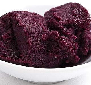 mulberry sorbet