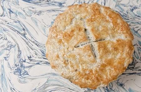 salal berry pie
