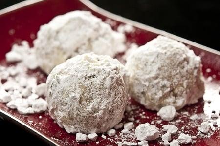 black walnut snowball cookies