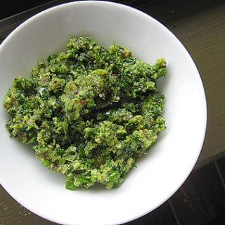 black walnut parsley pesto