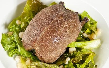 roast ruddy duck