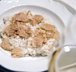 white truffle risotto