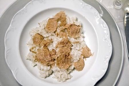 Oregon white truffle risotto