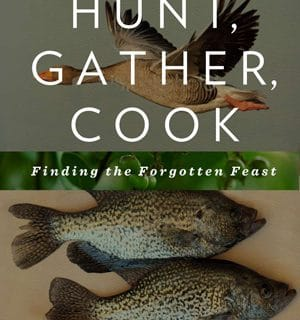 Preliminary Cover Art for Hunt, Gather, Cook