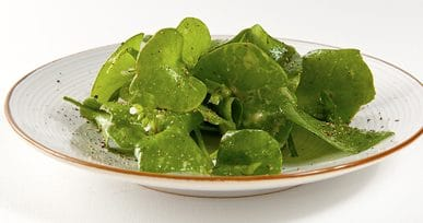 miners lettuce salad