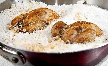 partridges in salt