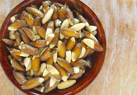 wild pine nuts