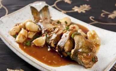 Sichuan fish with garlic recipe