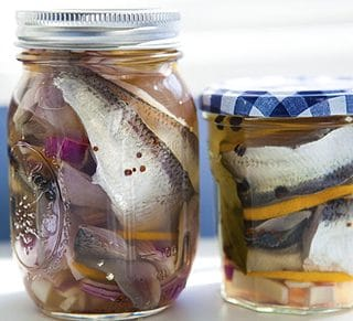 pickled herring recipe