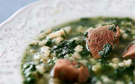 venison soup recipe