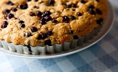 huckleberry cake recipe