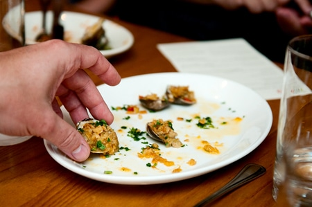 clam things at FINO