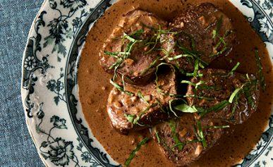 venison steak diane