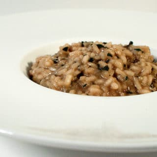 A bowl of turkey risotto